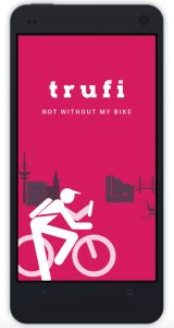 UI Mockup of Trufi Cycling App