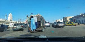 Minibus in Nouakchott