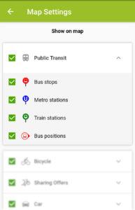 Public Transit Options