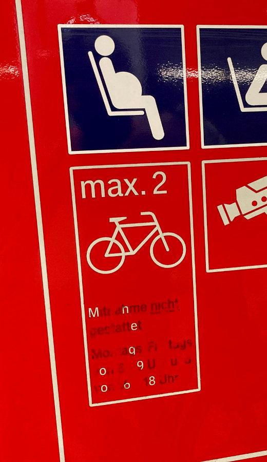Hamburg Train Station Sign